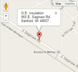 map - GE InsulationGE Insulation Map Insulation on